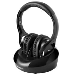 Meliconi HP 600 PRO - Bezprzewodowe słuchawki nauszne do telewizora