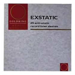 "Goldring Exstatic Record Sleeves – Wewnętrzne okładki antystatyczne do płyt 12"" - 25 sztuk"