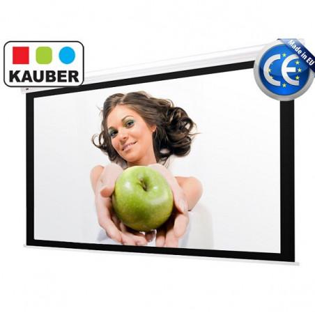 Ekran elektryczny Kauber Blue Label GrayPro 200 x 200 cm 1:1
