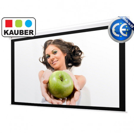 Ekran elektryczny Kauber Blue Label GrayPro 240 x 240 cm 1:1