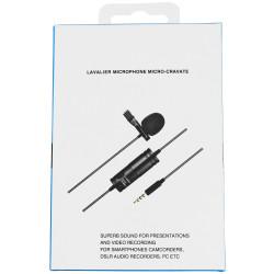 SAIBU MKL-01 - Mikrofon pojemnościowy typu Lavalier