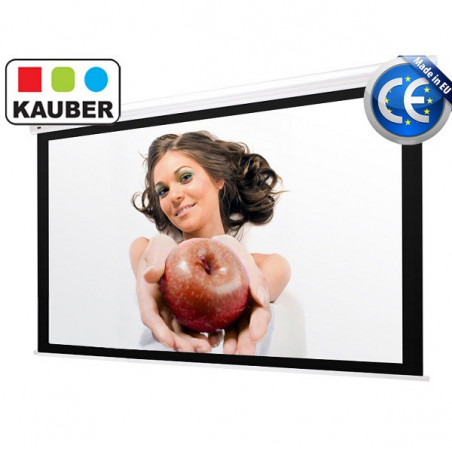 Ekran elektryczny Kauber Blue Label Bi Vision 300 x 300 cm 1:1