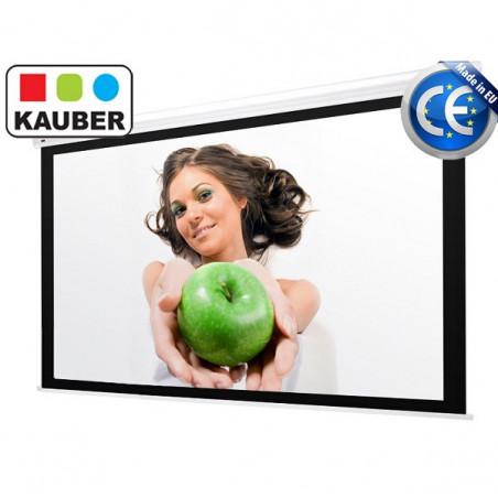 Ekran elektryczny Kauber Blue Label Focus 220 x 220 cm 1:1