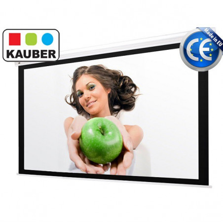 Ekran elektryczny Kauber Blue Label Focus 280 x 158 cm 16:9