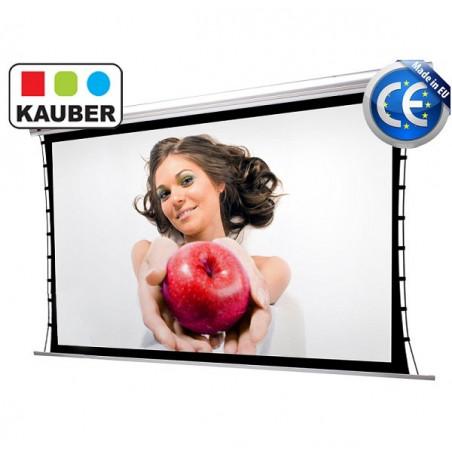 Kauber Blue Label Tensioned GrayPro 190x107cm 16:9