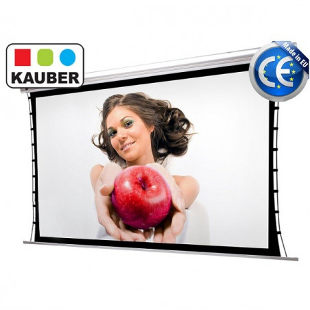 Kauber Blue Label Tensioned GrayPro 390x219cm 16:9