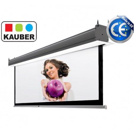 Ekran do zabudowy Kauber InCeiling GrayPro 260 x 146cm 16:9