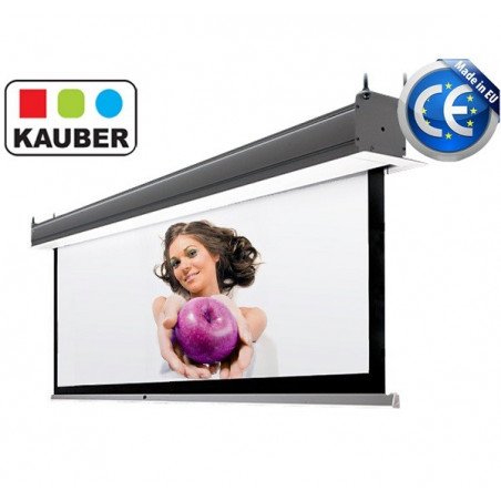Ekran do zabudowy Kauber InCeiling GrayPro 280 x 158cm 16:9