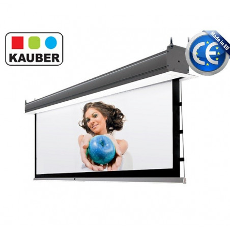 Kauber InCeiling Tensioned GrayPro 170x96cm 16:9