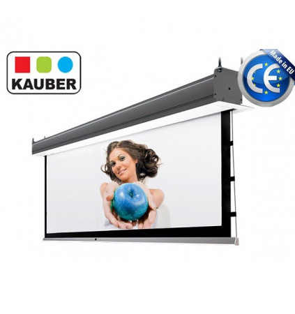 Ekran do zabudowy Kauber InCeiling Tensioned GrayPro