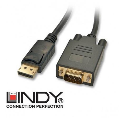 Kabel Display Port - VGA (D-Sub) Lindy 41471 2m