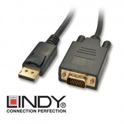 Kabel Display Port - VGA (D-Sub) Lindy