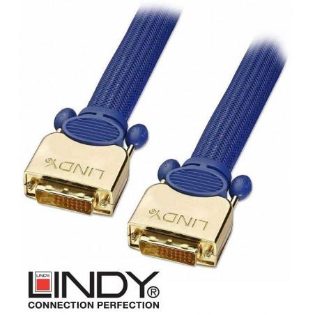 Kabel (przewód) DVI-D Lindy 37008 25 m
