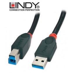 Kabel (przewółd) USB A-B Lindy 31461