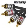 Kabel 2RCA-2RCA Wireway