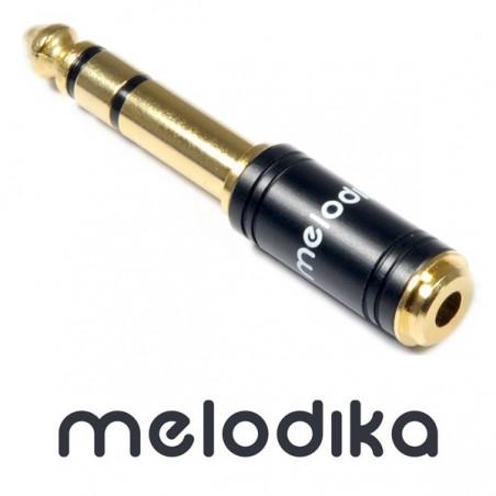 Melodika MDJGMJ - adapter mini-jack 3.5mm - Jack 6.3 mm