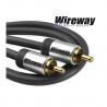 Kabel RCA-RCA (Cinch) Wireway