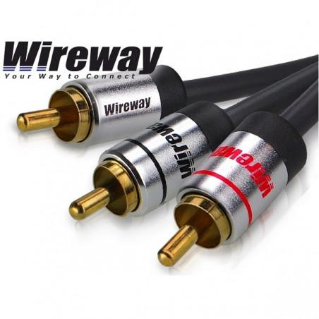 Kabel 1RCA-2RCA typu Y - Wireway 8m
