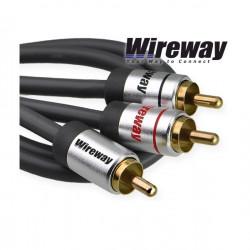 Kabel 1RCA-2RCA typu Y - Wireway