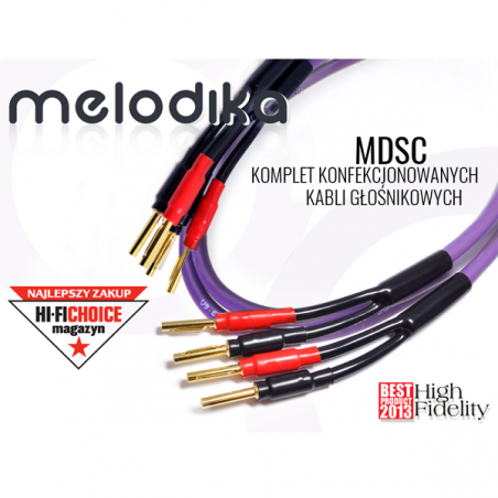 Kable głośnikowe 2x4mm2 MDSC4050 Melodika 5m
