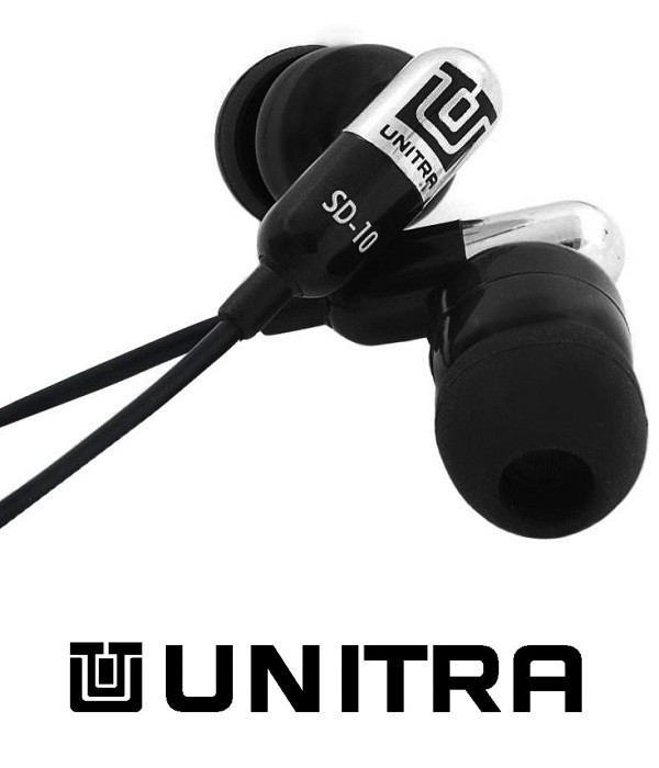 Słuchawki Dokanałowe Unitra SD-10CH z mikrofonem