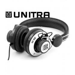 Słuchawki UNITRA SN-30CH czarno-chromowane