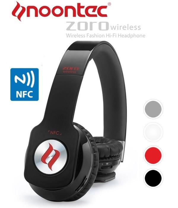 Noontec Wireless - Słuchawki nauszne Bluetooth z NFC i mikrofonem