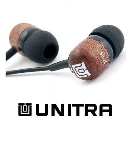 Słuchawki Dokanałowe Unitra SD-20 z mikrofonem