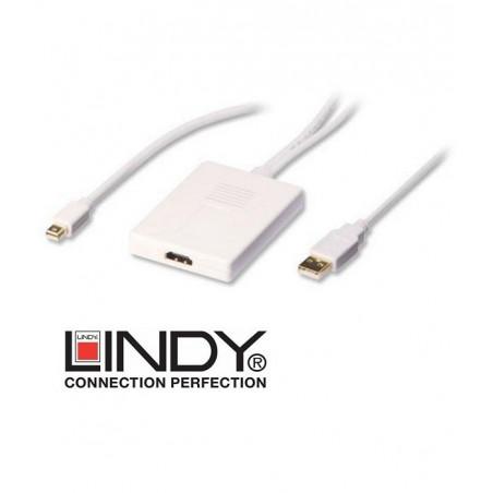 Adapter Mini Display Port / USB - HDMI Lindy 41026 0.7m