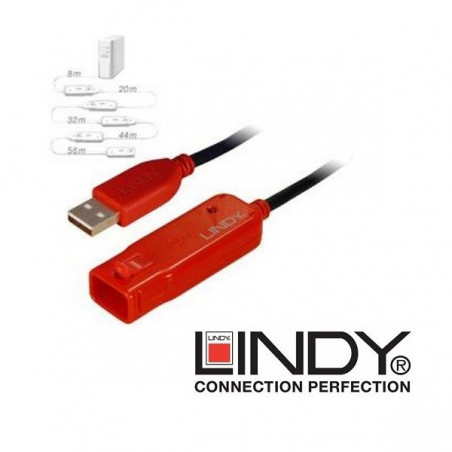 Przedłużacz USB ze wzmacniaczem Lindy 42780 8m