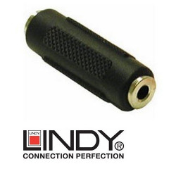 Przejściówka (adapter) mini jack stereo 3.5 mm Lindy 35535