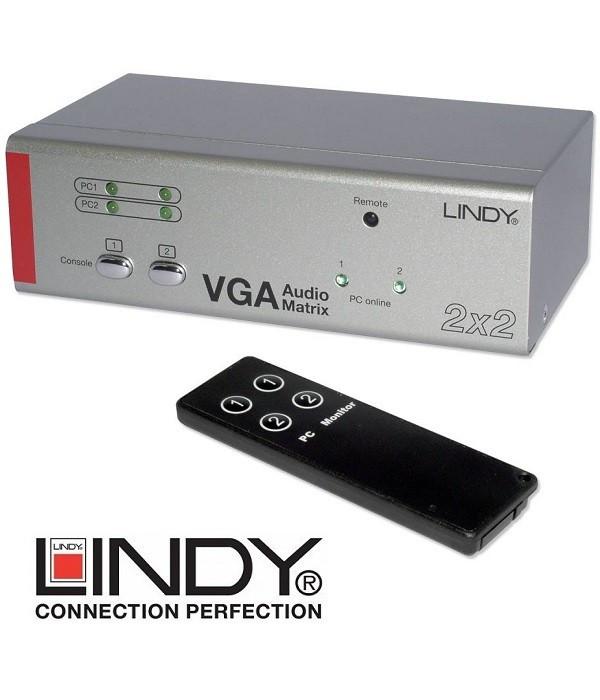 Splitter / Matrix VGA - Audio Lindy 32577