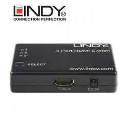 Switch (przełącznik) HDMI 3-1 Lindy 38033