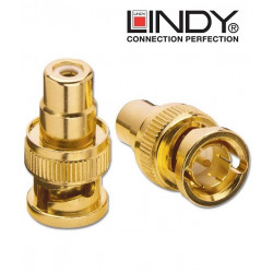 Przejściówka (adapter) RCA - BNC Lindy 35537