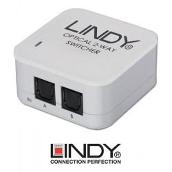 Switch (przełącznik) optyczny Toslink Lindy 70406