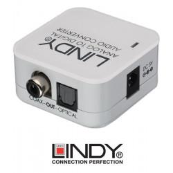 Konwerter 2 RCA - SPDIF Lindy 70409