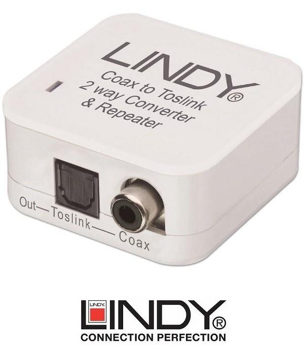 Konwerter SPDIF - Toslink LINDY 70411