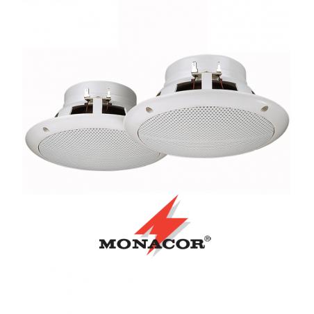 Głośniki wpustowe Monacor CRB-165WS
