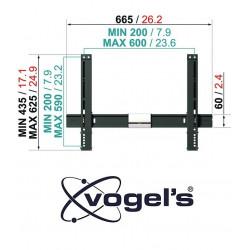 Vogels THIN 315 uchwyt TV / LCD (uchylny)