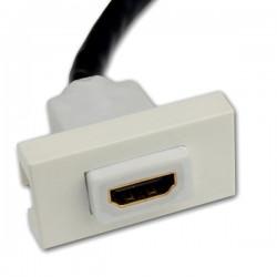 Gniazdo Panel HDMI 1.4 3D FullHD MOSAIC 22.5x45mm