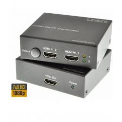 Extender (przedłużacz) HDMI - RJ-45 LINDY 38000