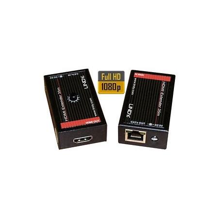 Extender (przedłużacz) HDMI - RJ-45 LINDY 38001
