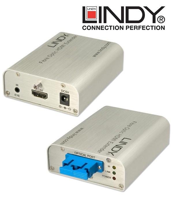 Extender (przedłużacz) HDMI LINDY 38003