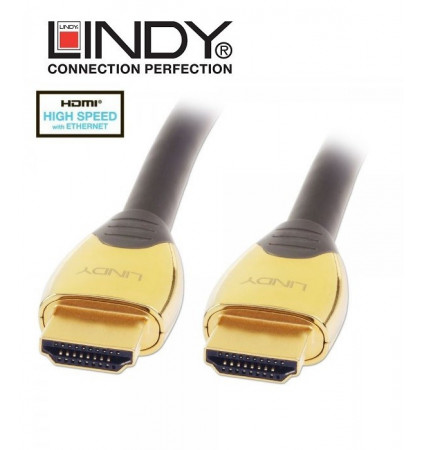 Lindy 37853 kabel Gold HDMI z Ethernet