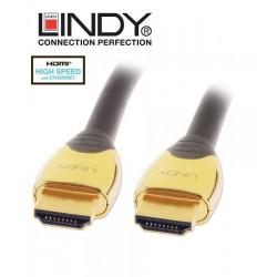 Lindy 37854 kabel Gold HDMI z Ethernet