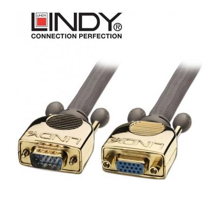 Przedłużacz VGA (D-SUB) Gold Lindy 37837 - 5m