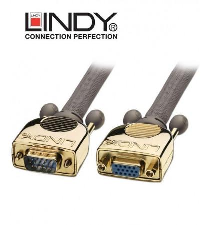 Przedłużacz VGA (D-SUB) Gold Lindy 37839
