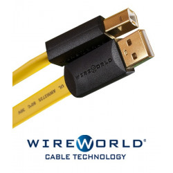 Kabel USB 2.0 A-B WireWorld 0.3m