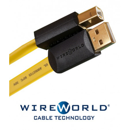 Kabel USB 2.0 A-B WireWorld 3m