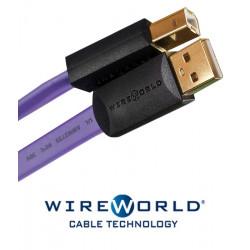 Kabel USB 2.0 A-B WireWorld Ultraviolet 1m